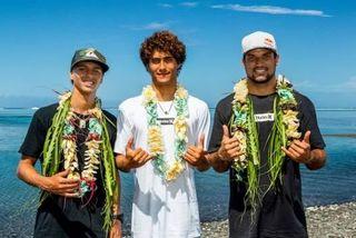 3 tahitiens à la Tahiti pro