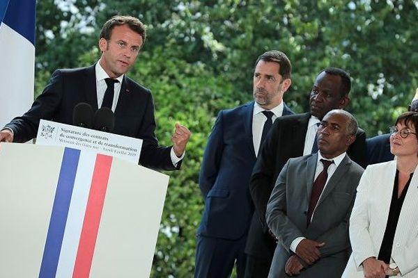 Macron medeton 8 juillet 2019