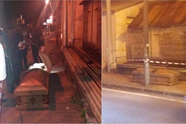 Cercueil à Carénage
