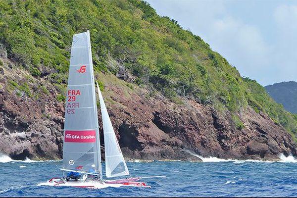 Martinique Cata Raid : bateau martiniquais