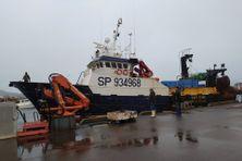 """Le Cap Jean, navire de l'entreprise """"Pêcheurs du nord"""""""