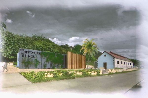 Futur centre de l'histoire du bagne de l'ile Nou