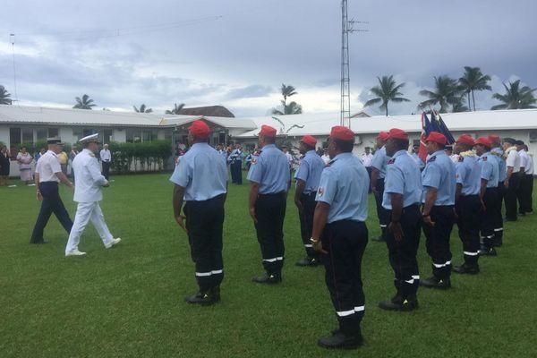Prise de fonctions officielle de Thierry Queffelec à Wallis et Futuna