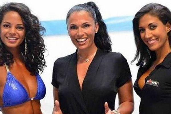 Miss Réunion bikini fitness