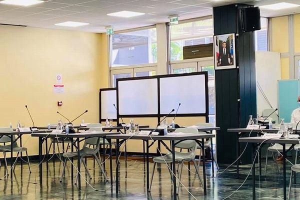 Le premier conseil municipal de l'année à Saint-Denis s'est tenu ce samedi 27 février, mais sans l'opposition.