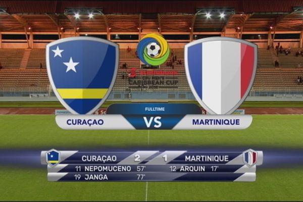 Résultat match Curaçao/Martinique