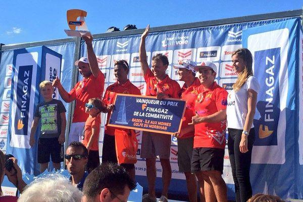 Trésors de Tahiti deuxième de l'acte de Baden et premier podium !