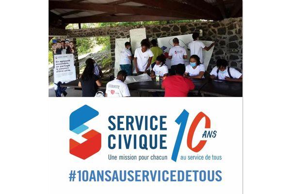 Service Civique / jeunes sur le terrain