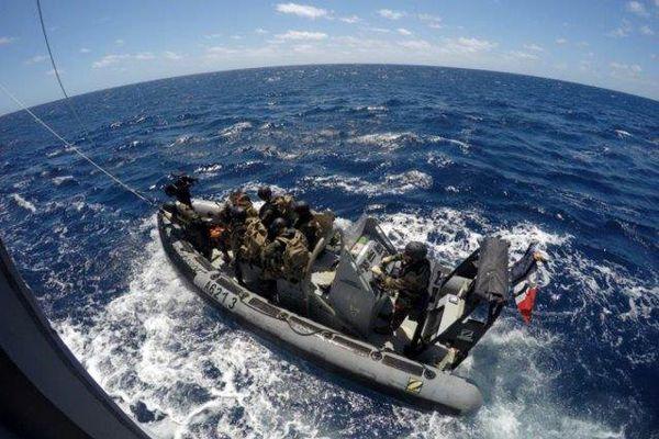 L'équipe de commandos du B2M d'Entrecasteaux