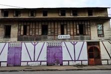 La maison Aubin-Hitier avenue de la Liberté à Cayenne