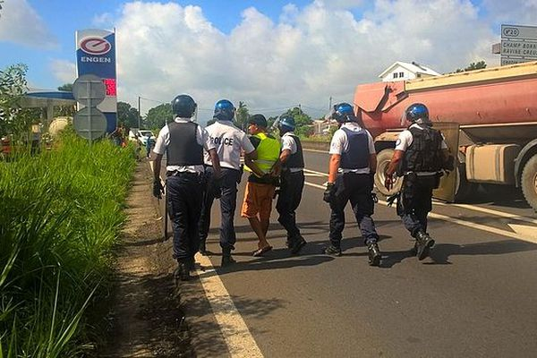 Arrestation d'un leader GJ à Saint-André
