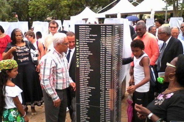 En ce 10 juin, jour de commémoration de l'abolition de l'esclave, le mémorial des libérés de 1848 a été inauguré, à Cayenne.