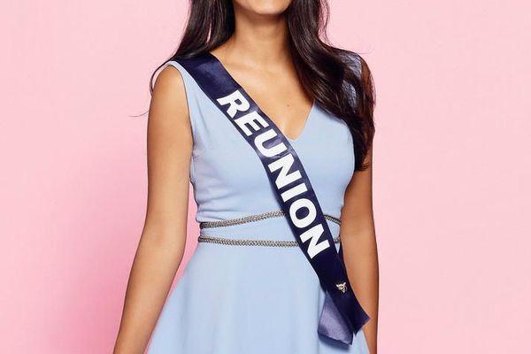 Morgane Soucramanien, 18 ans, Miss Réunion