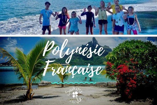 Sourire à la vie en Polynésie