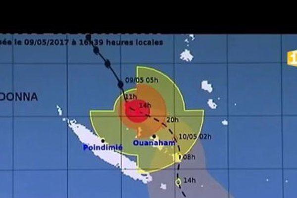Reprise de l'activité en Calédonie suite au passage du cyclone Donna