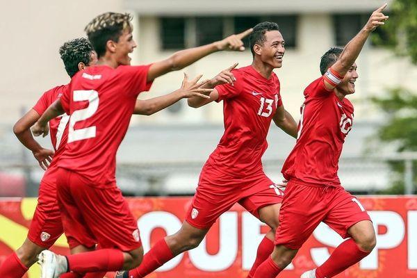 La sélection U19 de Tahiti