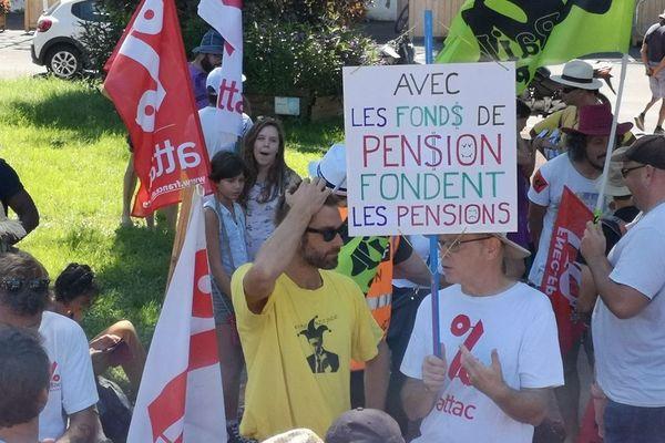 Une mobilisation, ce samedi 11 janvier, à Saint-Pierre, pour protester contre la réforme des retraites.