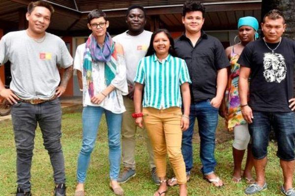 Les jeunes du programme Terra Maka'Andi