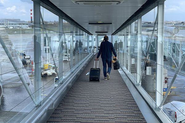 embarquement aéroport