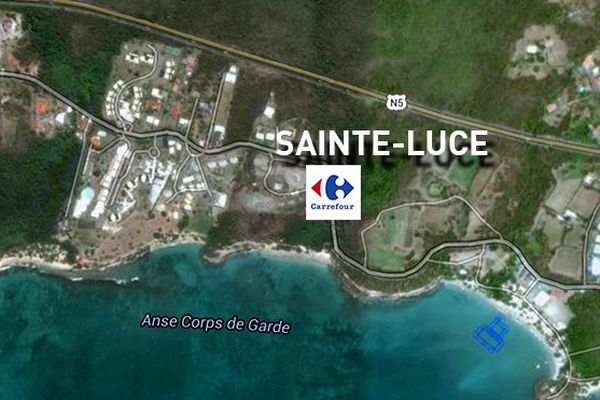Carrefour Sainte-Luce