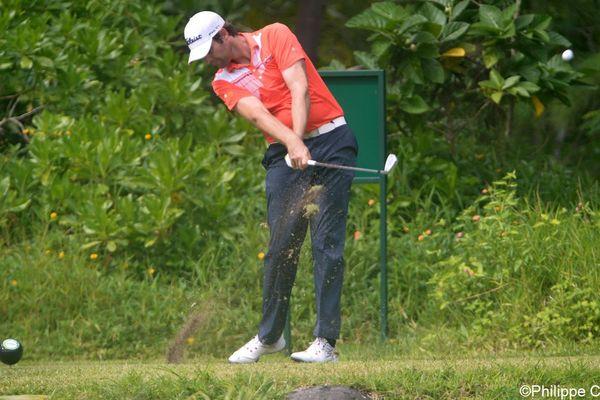 Tim Stewart , vainqueur du 33e Open