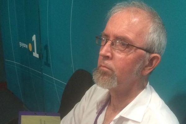 Laurent Martin, le président du tribunal administratif de Guyane