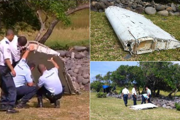 Débris d'avion enquête