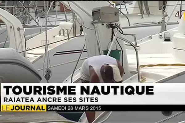 Tourisme nautique : Raiatea a le vent  en poupe