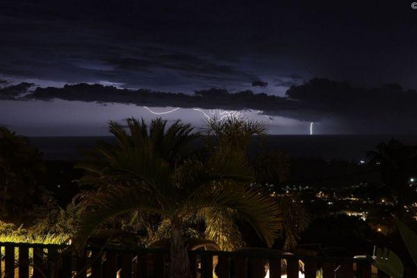 Vigilance orages sur La Réunion.