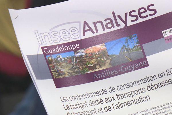 ENQUETE CONSOMMATION DES MENAGES INSEE