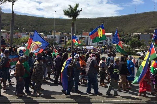 Manifestation Nouméa collectif Vale