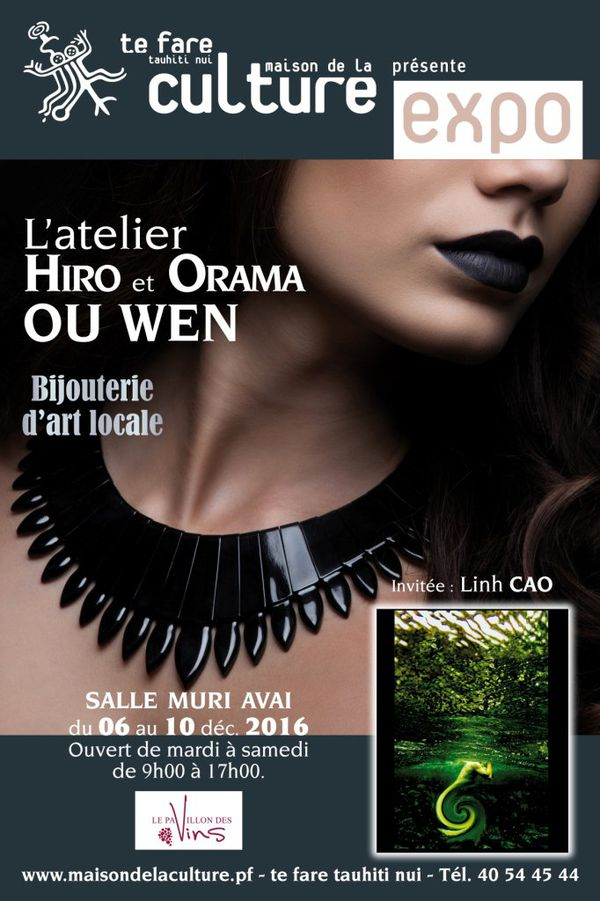 Affiche expo ouwen