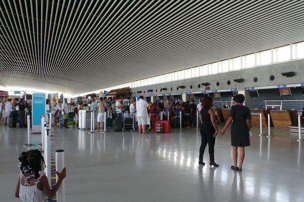 A l'aéroport Pôle Caraïbes