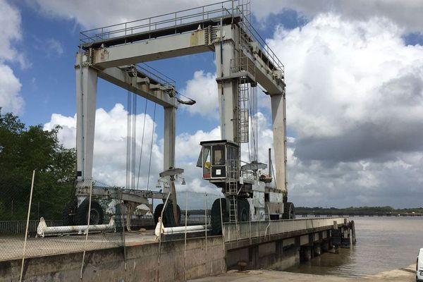 Le port du Larivot à Matoury 1