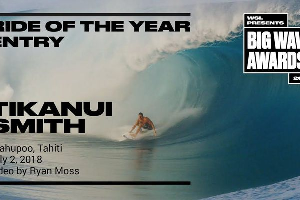 """XXL Biggest Wave"" et ""Ride of the year"" : les Tahitiens sélectionnés par la WSL"