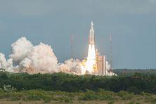 Décollage de la fusée Ariane 5 - archive
