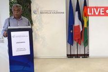 Déclaration de Louis Mapou, président du gouvernement,