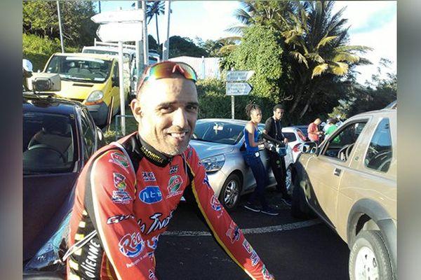 Cycliste Hervé Arcade