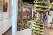 Toloman, l'exposition d'Abel Adonaï au centre culturel de Matoury