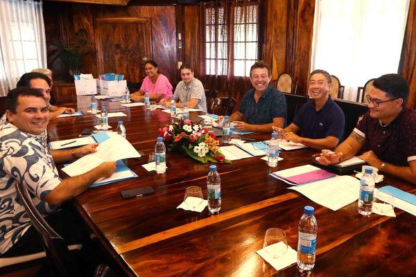 2ème commission à la vice-présidence