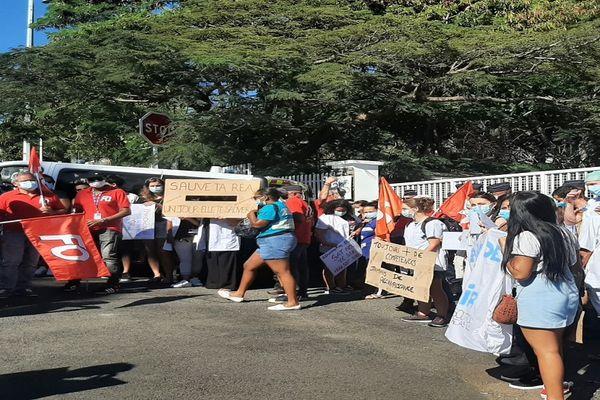 Manifestation personnel réa 110521