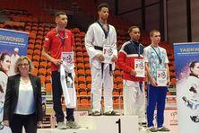 Lyvestone Celin champion de France espoir Taekawando