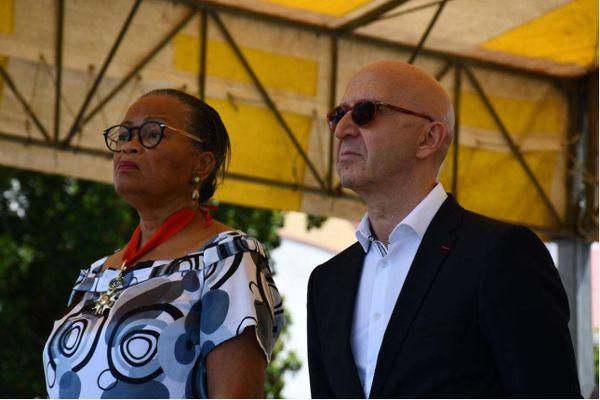 Marcelle Pierrot et Philippe Gustin