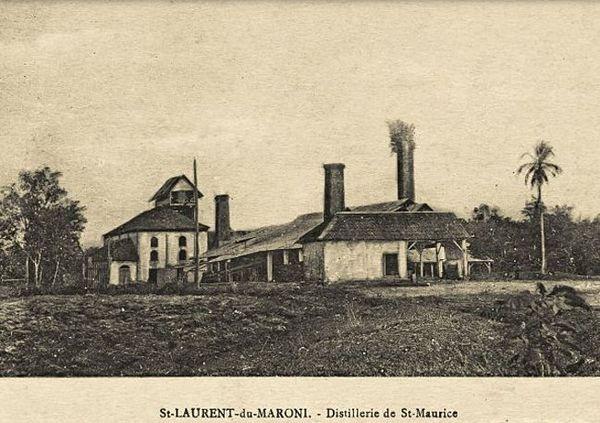 usine du bagne de Saint-Maurice, guyane