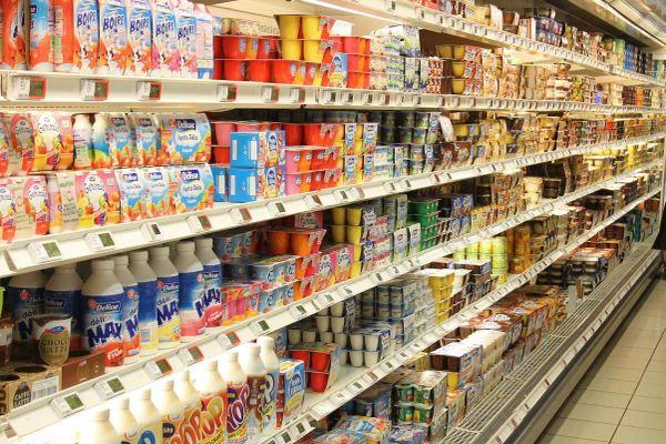yaourts supermarche