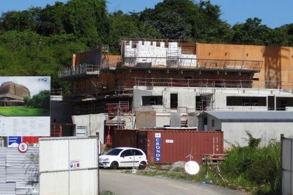 La construction de la maison des mémoires et cultures à Rémire-Montjoly