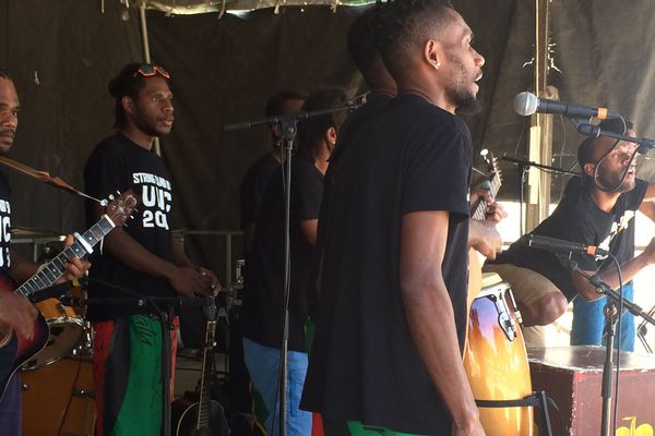 Festival Caledonia +687, string band, Nouméa, 17 juin 2018