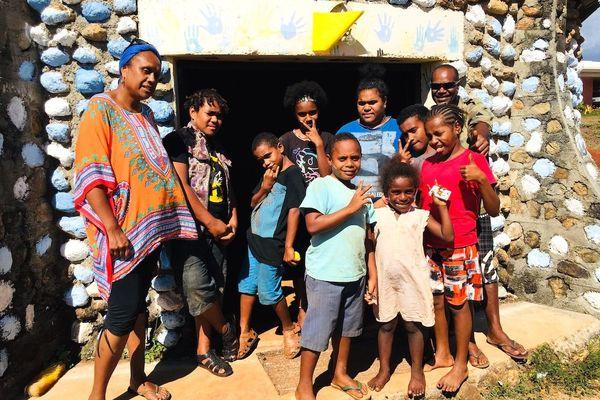 Colonie de vacances à Gamaï, Kaala-Gomen, janvier 2020