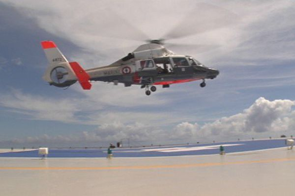L'héliport de l'hôpital de Taaone enfin inauguré