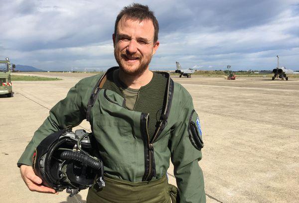 Commandant Richard, pilote rafale calédonien